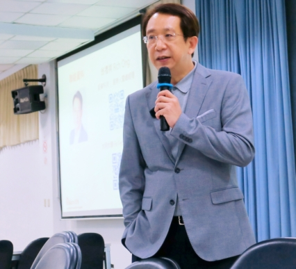 於台北科技大學 / 資訊與金融管理系所 演講.