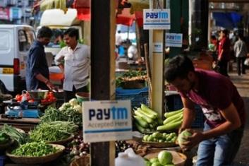 Paytm是印度最流行的手機錢包。在一般市場也可方便使用。