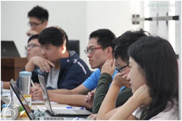 專注的學生_清華服務科學所_20171101